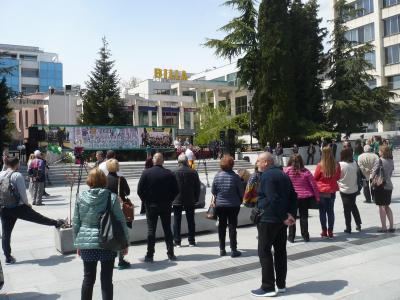 Стара Загора аплодира тройните си шампионки в баскетбола