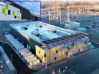 AES спечели годишната награда Едисон за Системата за съхранение на енергия с батерии  Аламитос  в Калифорния