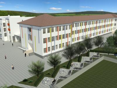 Появиха се макетни снимки на новата гимназия в Стара Загора