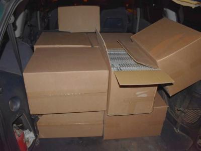 Служители на РУ – Чирпан иззеха 100 000 къса контрабандни цигари