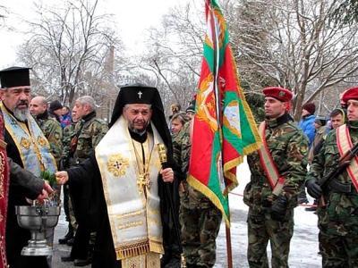 Митрополит Киприан ще освети бойните знамена на гарнизон Стара Загора