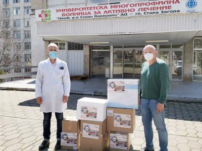 Посолството на САЩ в България дари машини за PCR анализи на УМБАЛ  Проф. д-р Стоян Киркович
