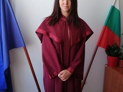 Нов младши прокурор встъпи в длъжност в Районна прокуратура - Казанлък
