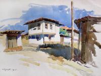 Изложба с акварелните пейзажи на Чудомир представят в Стара Загора